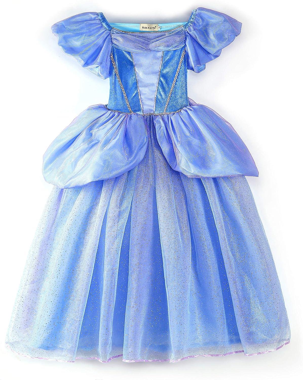 ANNA Dress Queen Cosplay Costume Grils Fancy Dress UK Seller Halloween