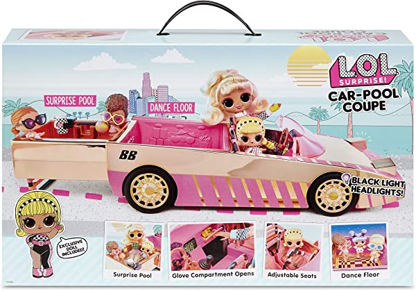 L.O.L. Surprise! Car-Pool Coupe in box