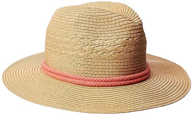 O Neill Women s Meridian Straw Fedora Hat c01a53944a7
