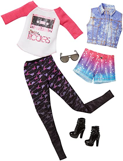 07821523c5002 Buy Barbie Fashion 2 Pack Casual Chic Online at Low Prices in India ...
