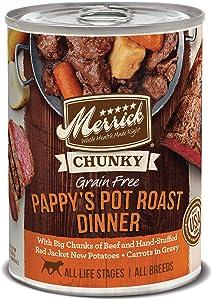 MerrickChunky Grain Free Wet Dog Food (Case of 12)
