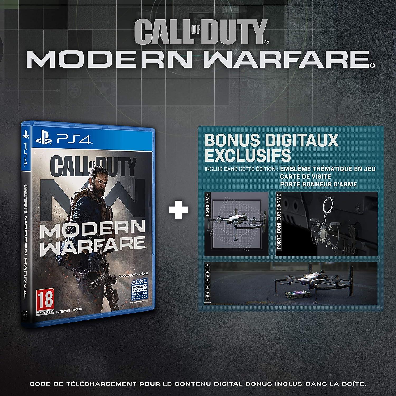 Call of Duty: Modern Warfare - Edition Exclusive Amazon (PS4 ...