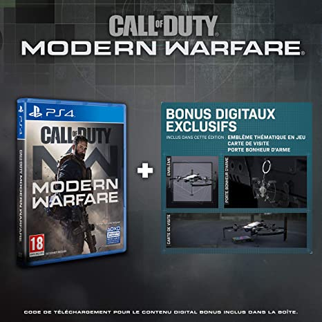 Call of Duty Modern Warfare , Edition Exclusive Amazon (PS4