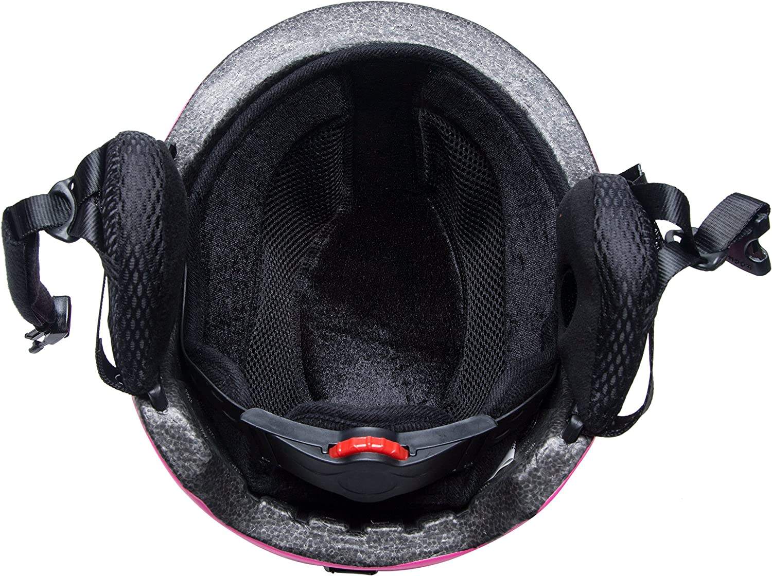 UNISTRENGH Professional Ski Snowboard Helmet Lightweight Durable Snow Sports Helmets with Removable Washable Lining Chin Pad and Earmuff for Adult Youth