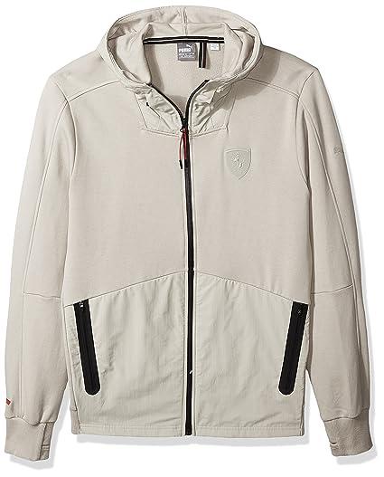 ed8c3f78bfa5 PUMA Men s Ferrari Hooded Sweat Jacket at Amazon Men s Clothing store