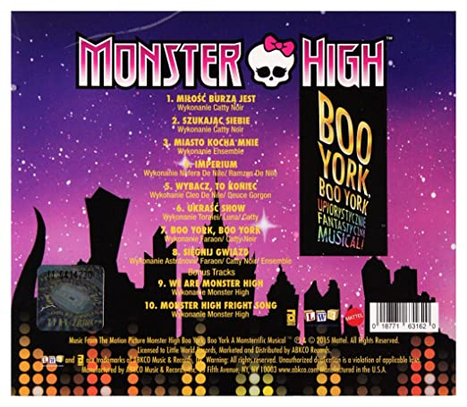 monster high boo york boo york songs