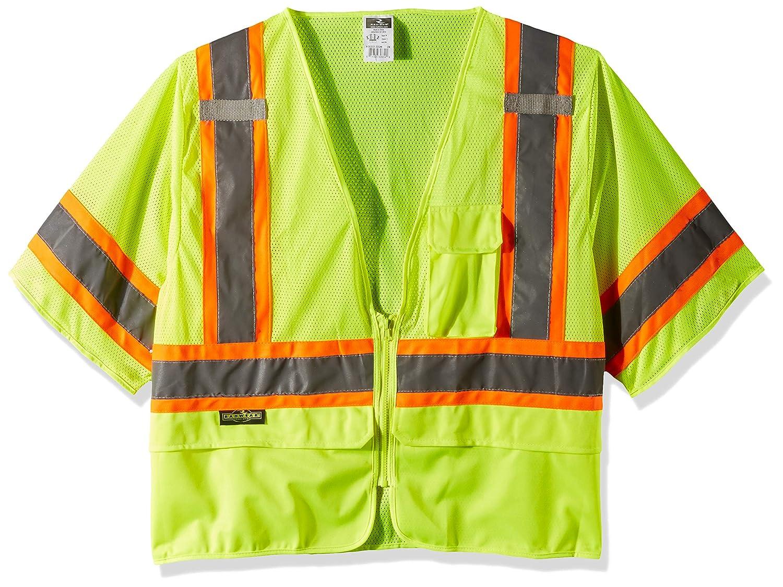 Hi-Viz Green Radians Inc SV272-3ZGM-2X Class 3 SAFETY Vest 2X-Large