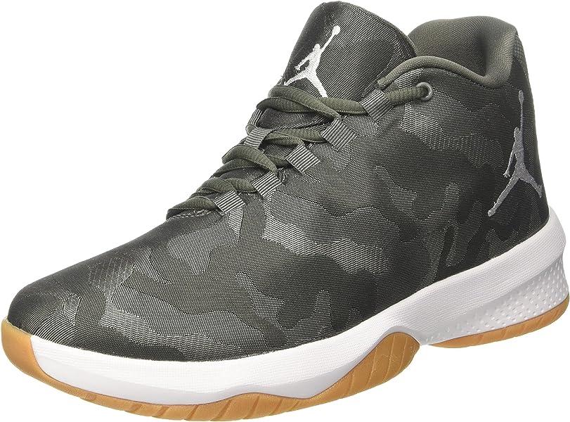 new product 5ca76 d102e Nike Herren Jordan B. Fly Basketballschuhe Grau (River Rock White-Dk Stucco