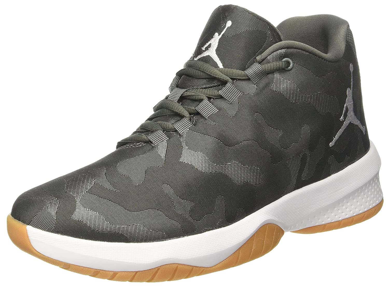 new concept 387e2 a04be Amazon.com   Nike Men s Air Jordan B Fly River Rock White-Dark Stucco  881444-051 Shoe 10 M US Men   Basketball