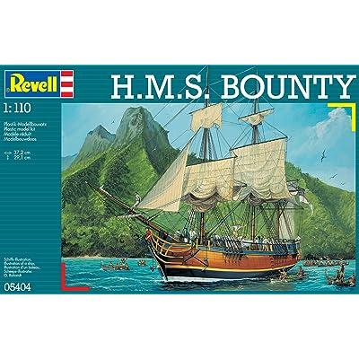 Revell- Maqueta H.M.S. Bounty, Kit Modello, Escala 1:110 (5404) (05404): Juguetes y juegos