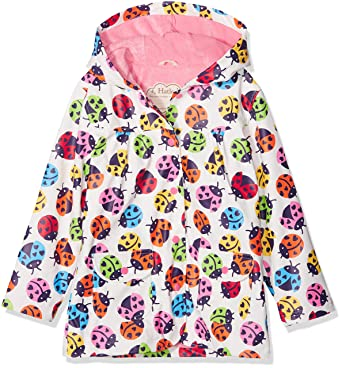 Hatley Kids Baby Girls Rainbow Ladybirds Classic Raincoat (Toddler/Little Kids/Big Kids