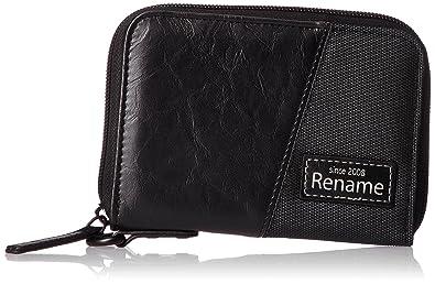 71af739fa04f Amazon | [リネーム] 二つ折り財布 coat ラウンド二つ折り財布 ブラック ...