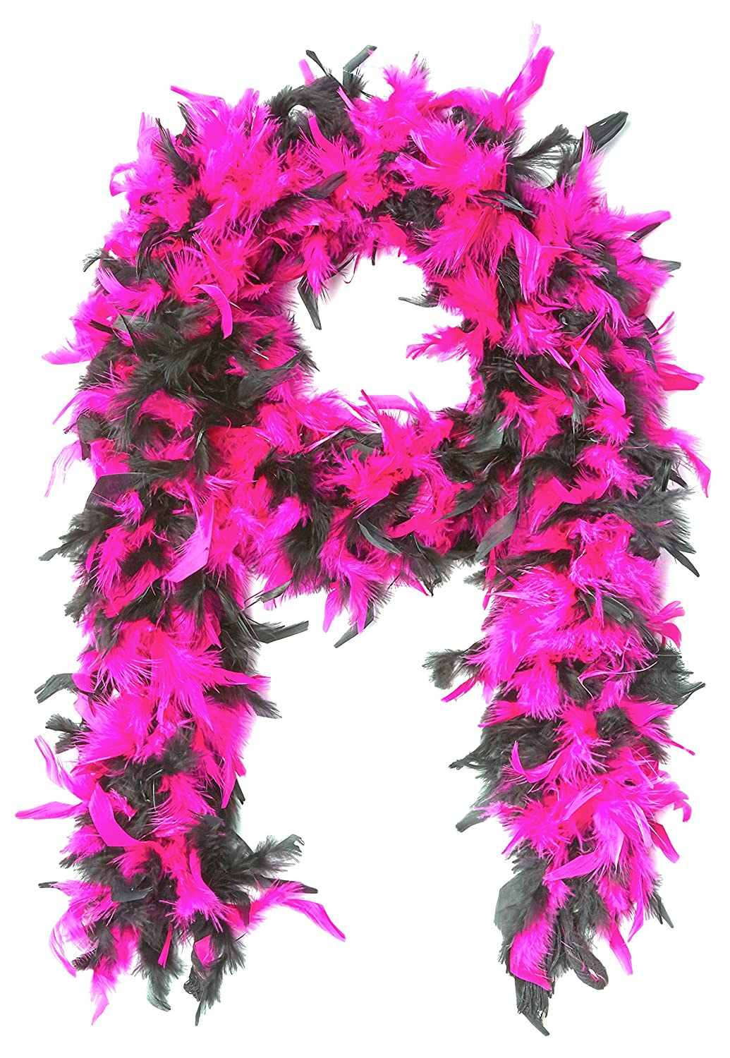 Forum Novelties Women's 55-Gram Feather Boa Purple/White One Size Forum Novelties Costumes 70463
