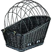 Trixie Plastiküberzogener Fahrrad-Korb mit Gitter