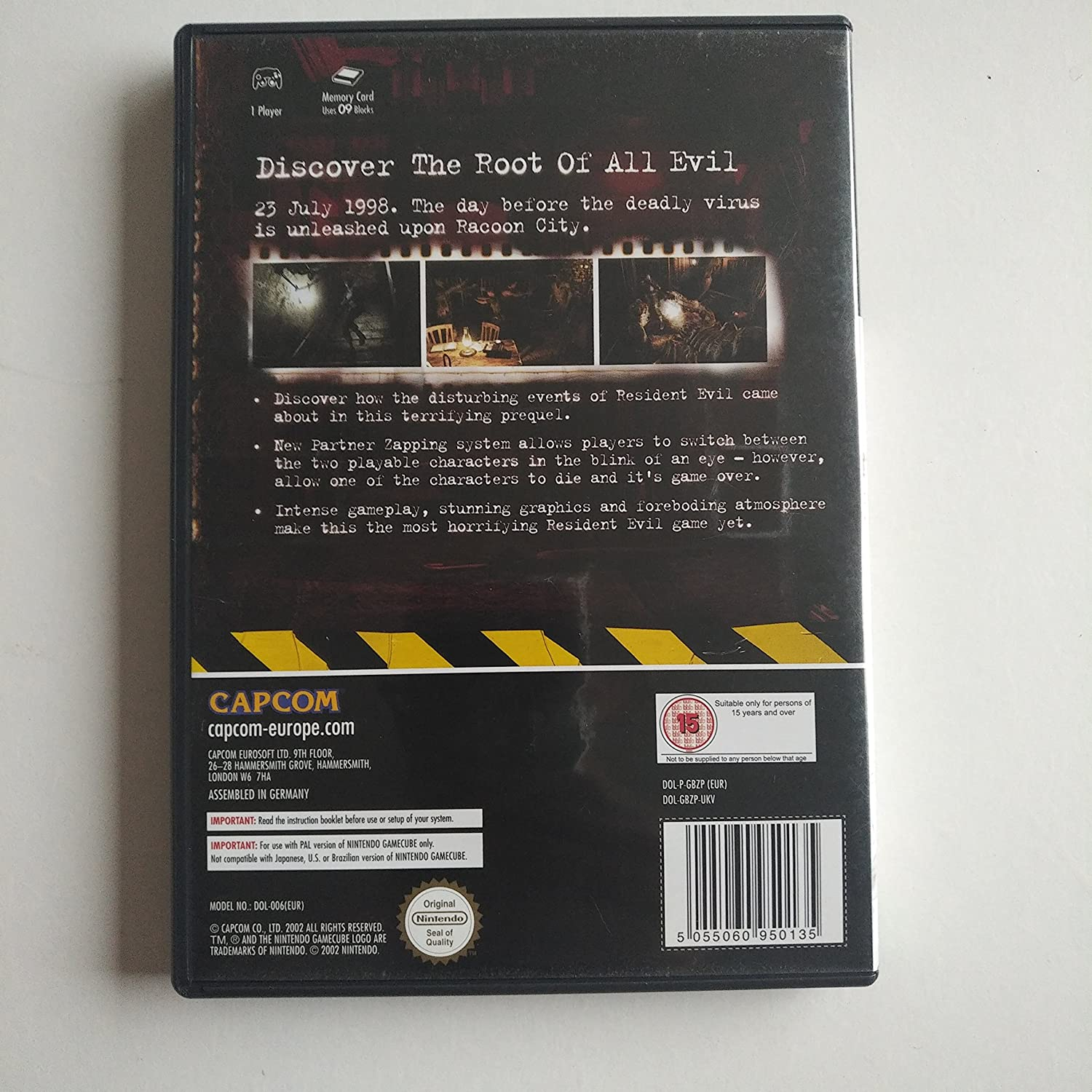 Resident Evil Zero - Players Choice (Importación Inglesa): Amazon ...