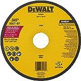DEWALT Disco de Corte Metal Inox de 4 1/2 Pol. x 1,2mm x 7/8 Pol. (114mm x 1,2mm x 22mm) DW8062AR
