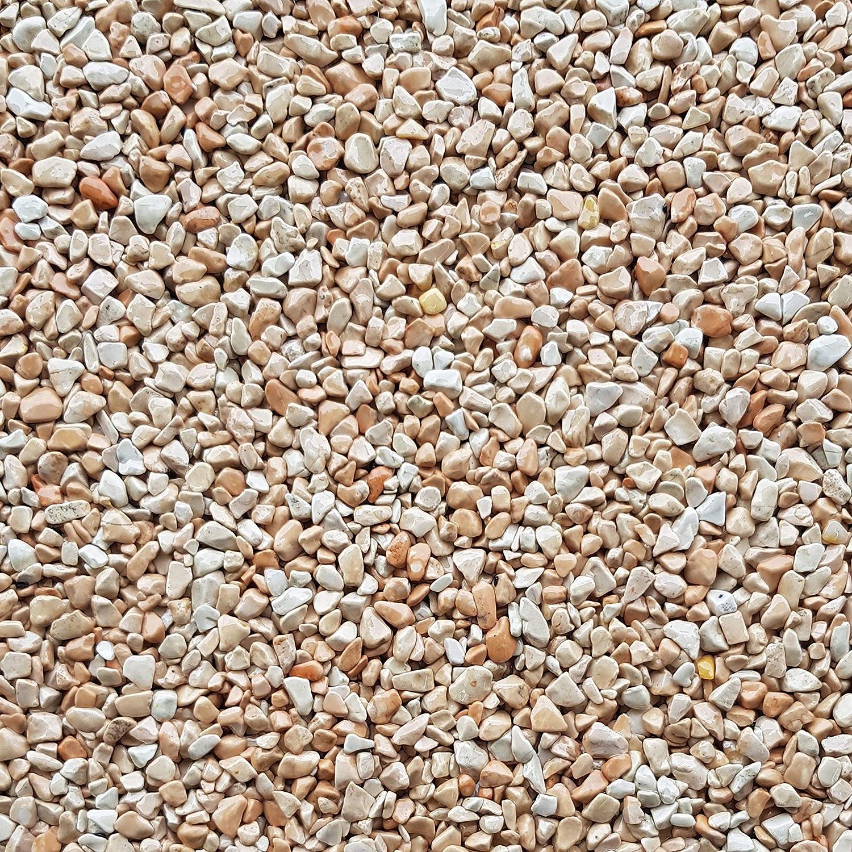 Quarzkies Marmorsplitt Zierkies Ziersplitt Buntkies Nero Ebano Schwarz 25Kg