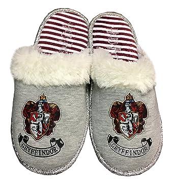 466b56706440 Ladies Girls Harry Potter Slippers Slip On Mules (UK 7-8 EU 40-42)   Amazon.co.uk  Clothing