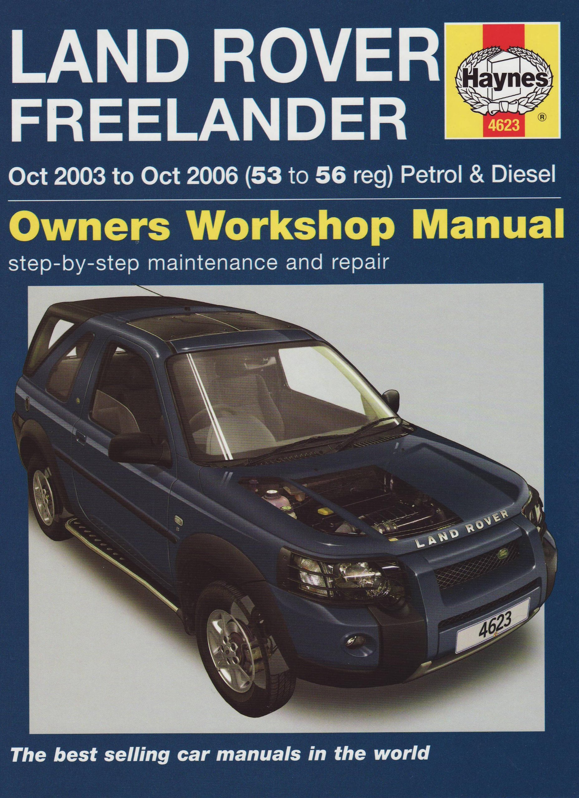 Land Rover Freelander Petrol and Diesel Service and Repair Manual: 2003 to  2006 (Haynes Service and: randall-martynn: 9781844256235: Amazon.com: Books