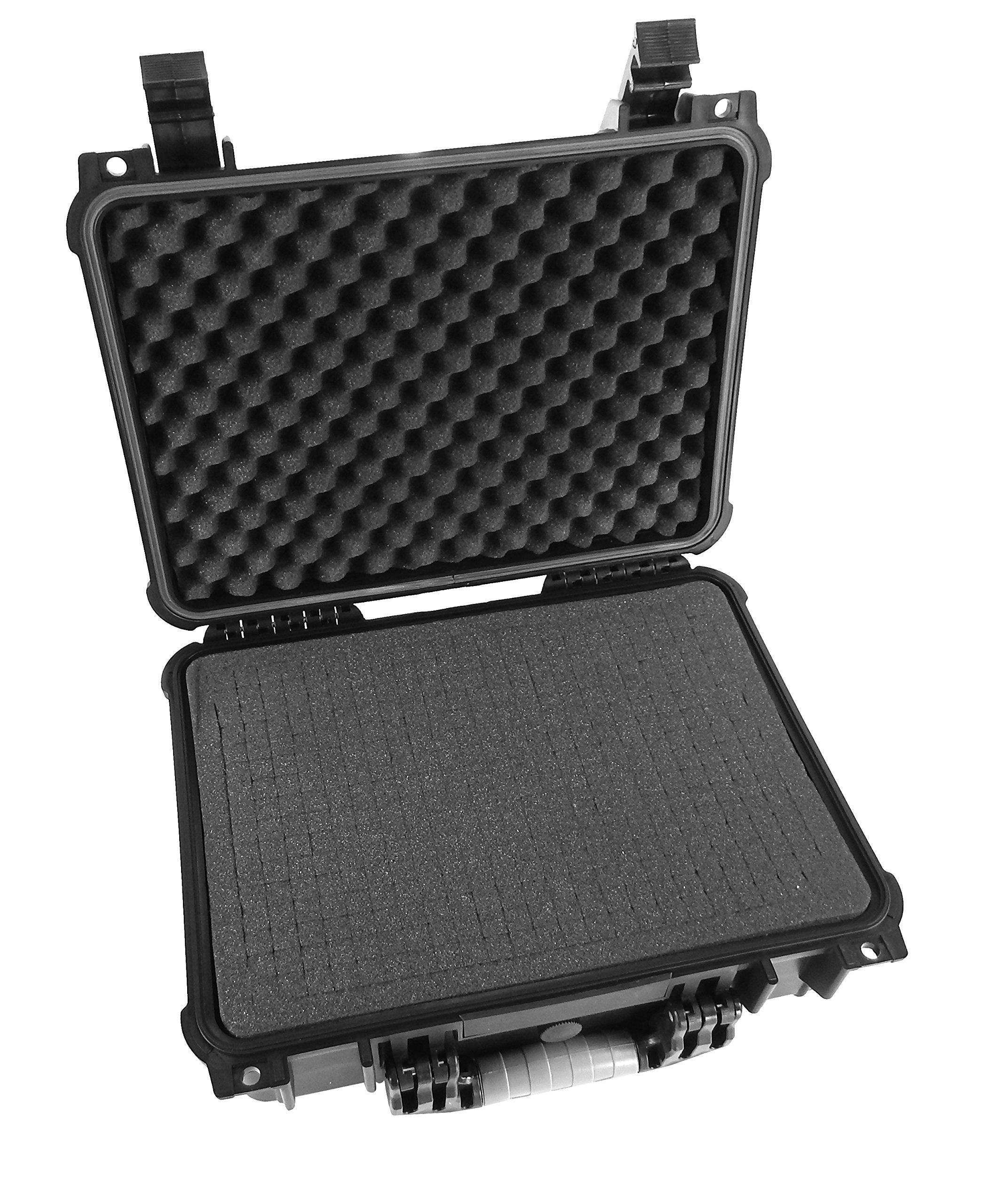 CASEMATIX Armor Travel Carrying Case (16'') for DJ Mixer / Controller - Fits Pioneer DJ CXDJ-700 / DJM-450 / DJM-350 / DDJ-SP1 / RMX-1000 / RMX-500