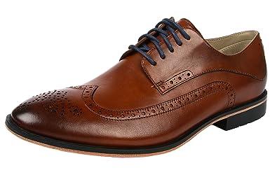 Clarks Gatley Limit, Men's Brogue, Brown (tan Leather), 10 UK (