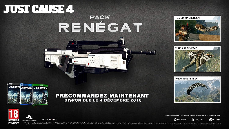 Just Cause 4 - Edition Renegat - Exclusif Amazon [Importación ...