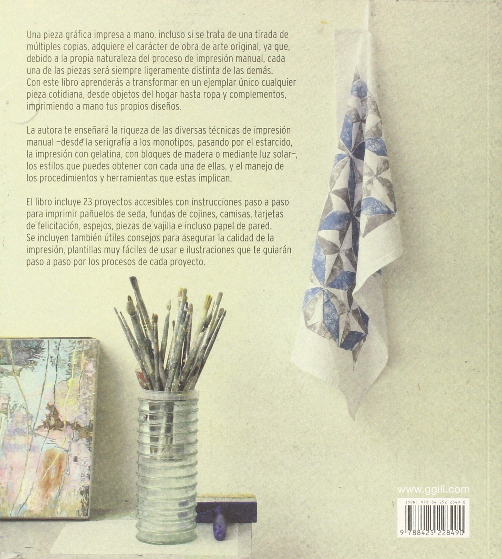Taller de impresión manual: Técnicas, herramientas y ...