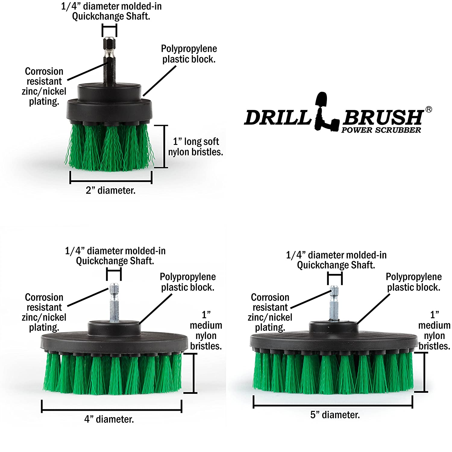 Cleaning Supplies Drill Brush Bathroom Accessories