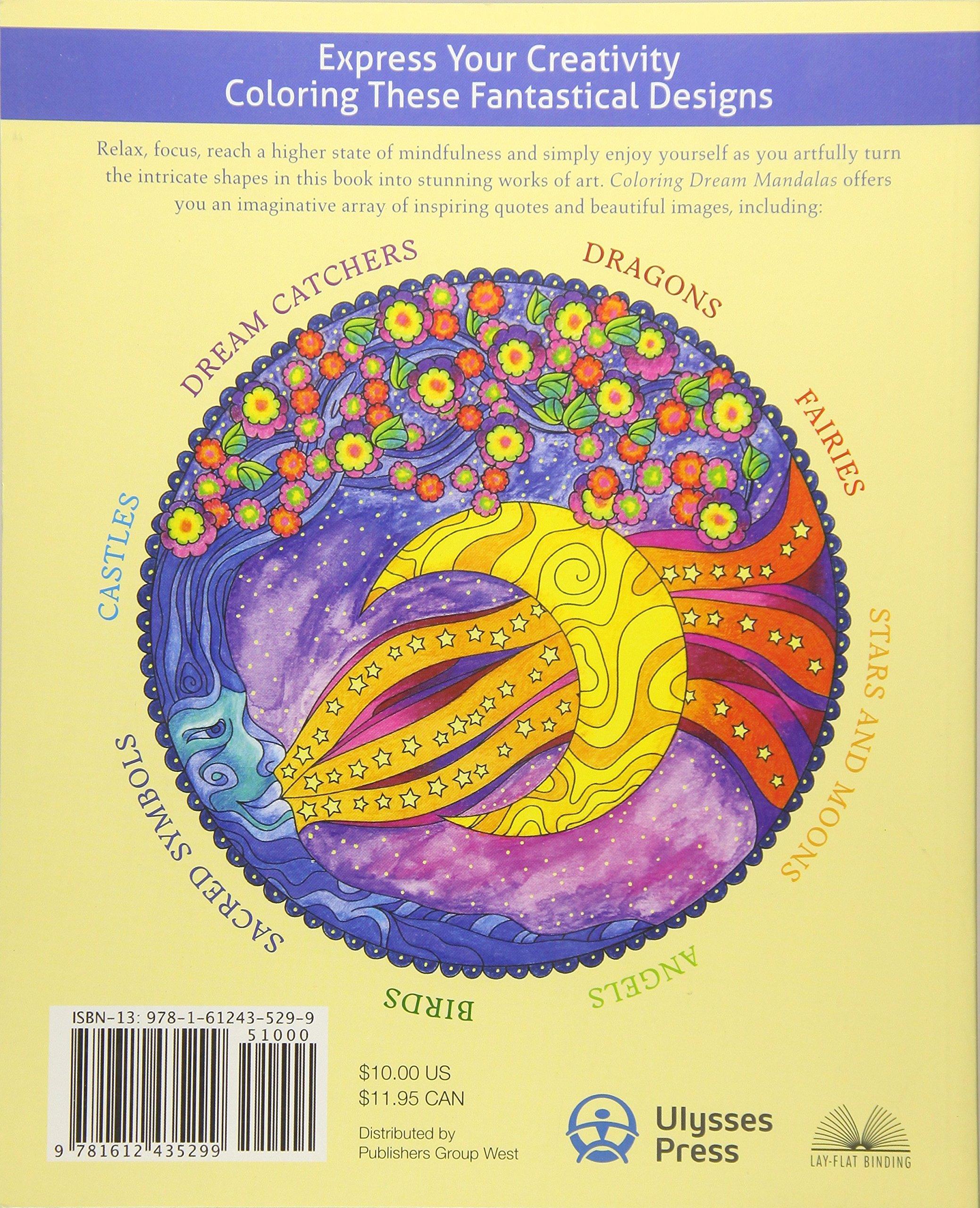Coloring Dream Mandalas 30 Hand Drawn Designs For Mindful