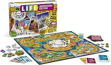 Hasbro Juego de Aventuras de la Vida [Importado de Inglaterra]: Hasbro Game of Life Adventures: Amazon.es: Juguetes y juegos