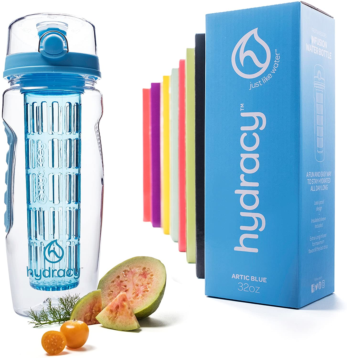 Hydracy Infuser Water Bottle