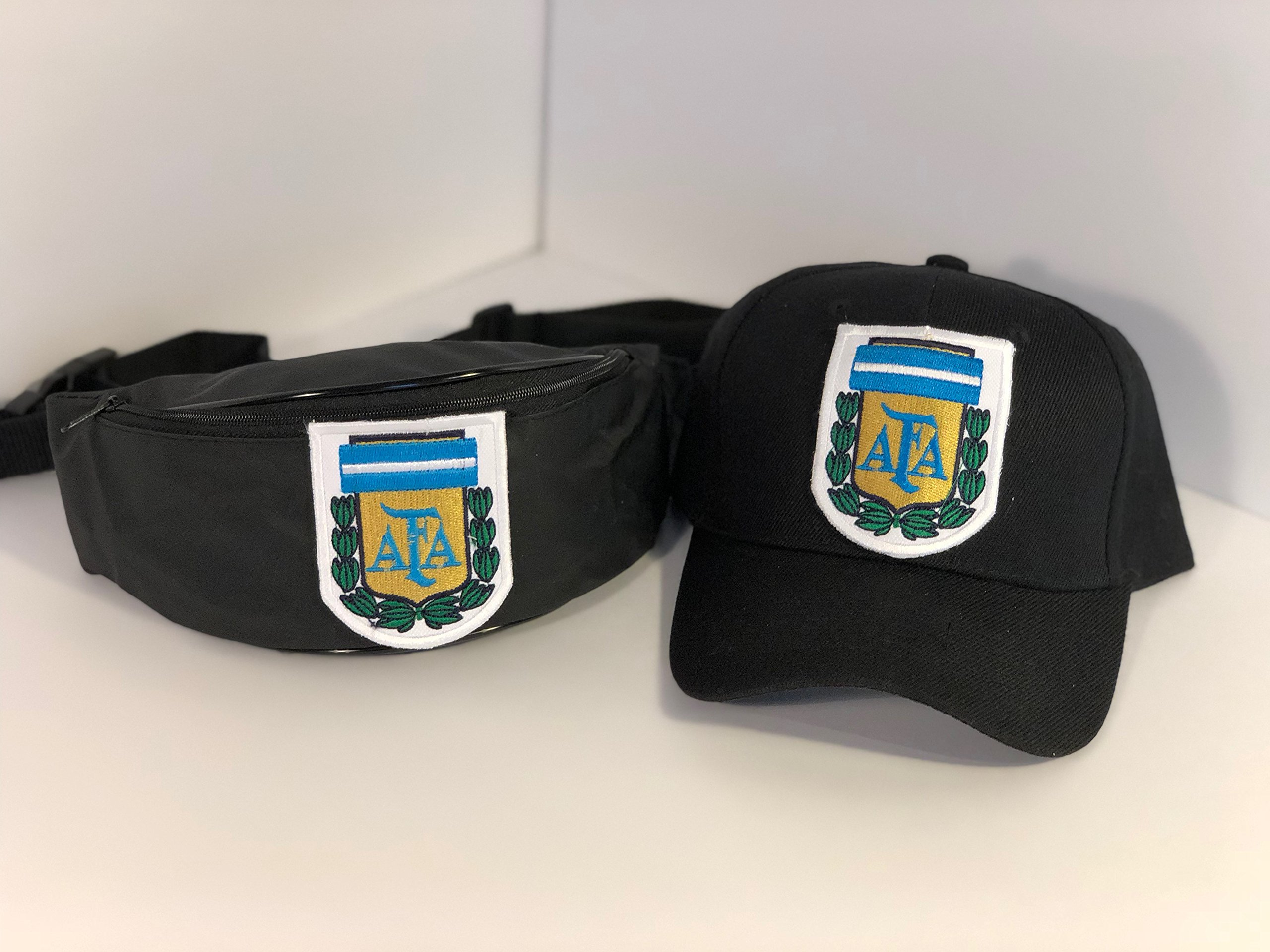 GETDEALS4U Russia World Cup 2018 Argentina Hat and Fanny Pack Bundle