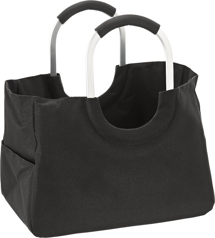 LOMOS Cesta de Compra shoppingbag Bolsa para Compras,tamaño L,en Negro