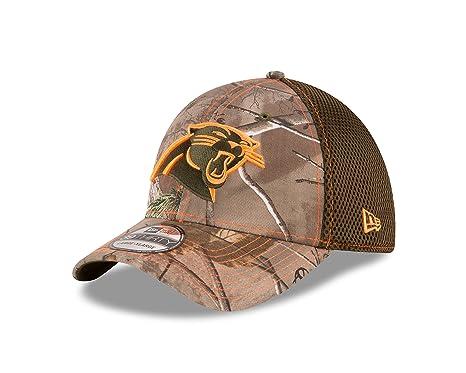a24249622 New Era NFL Carolina Panthers Realtree NEO 39THIRTY Stretch Fit Cap