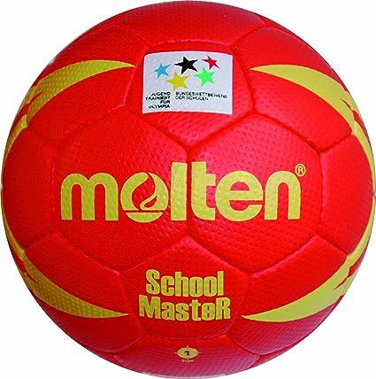 MOLTEN Handball - Pelota de Balonmano (Cuero, para jóvenes), Color ...