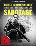 Sabotage - Uncut/Steelbook [Blu-ray] [Limited Edition]