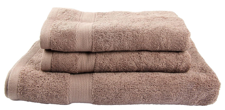 Winthome 3 Pack Toalla de Baño Grande para Cuarto de Baño,Juego de Toallas de Ducha (marrón): Amazon.es: Hogar