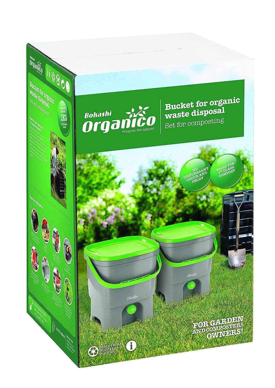 Kit Bokashi Organico con sustrato natural para la separación de ...