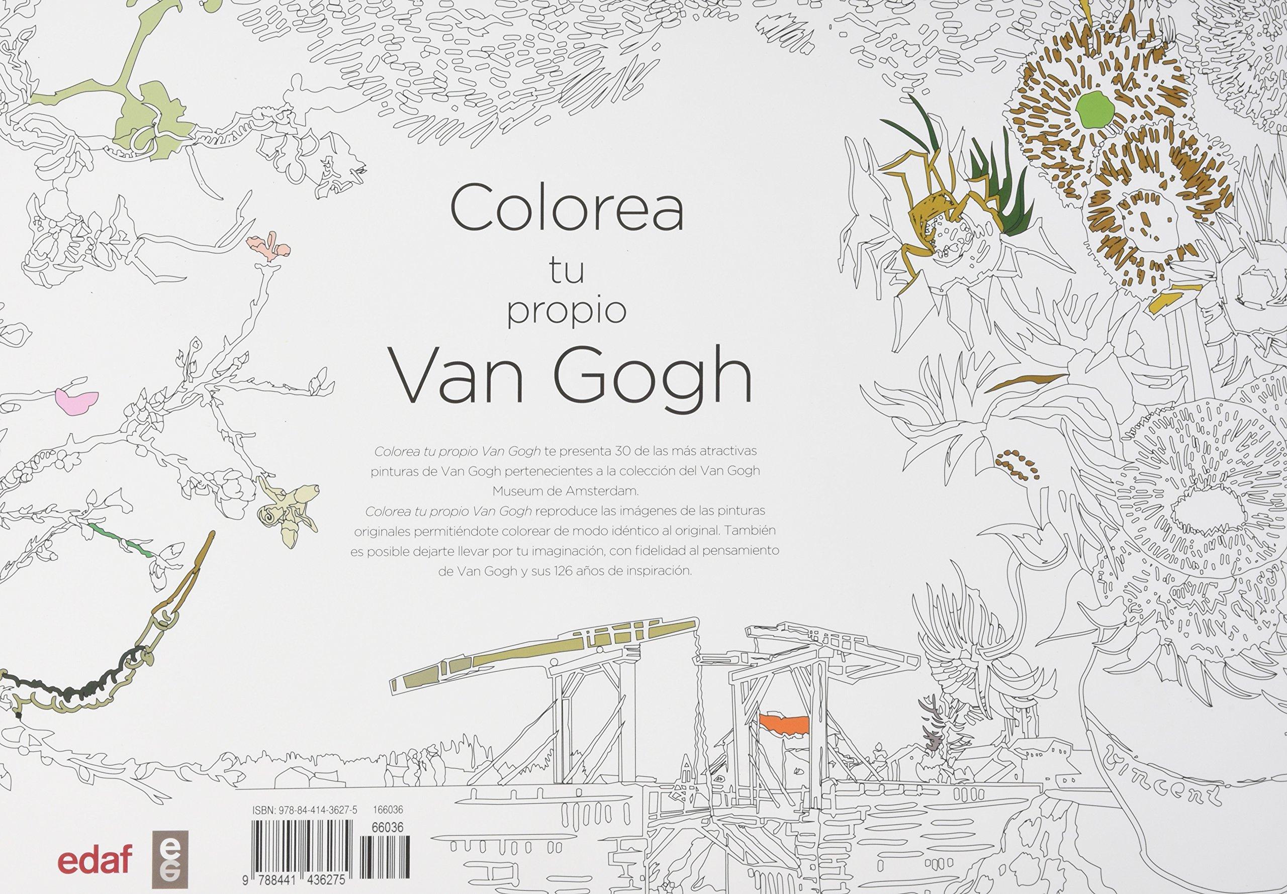 COLOREA TU PROPIO VAN GOGH (Ocio): Amazon.es: Van Gogh Museum ...