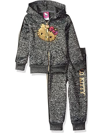 c5e708fff192 Hello Kitty - Piece Hooded Fleece Active Set