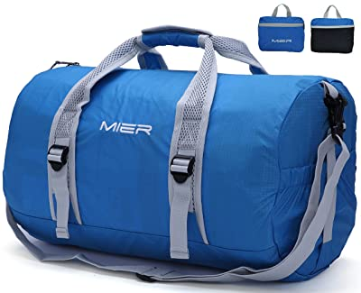 MIER Foldable Small Duffel Bag Lightweight