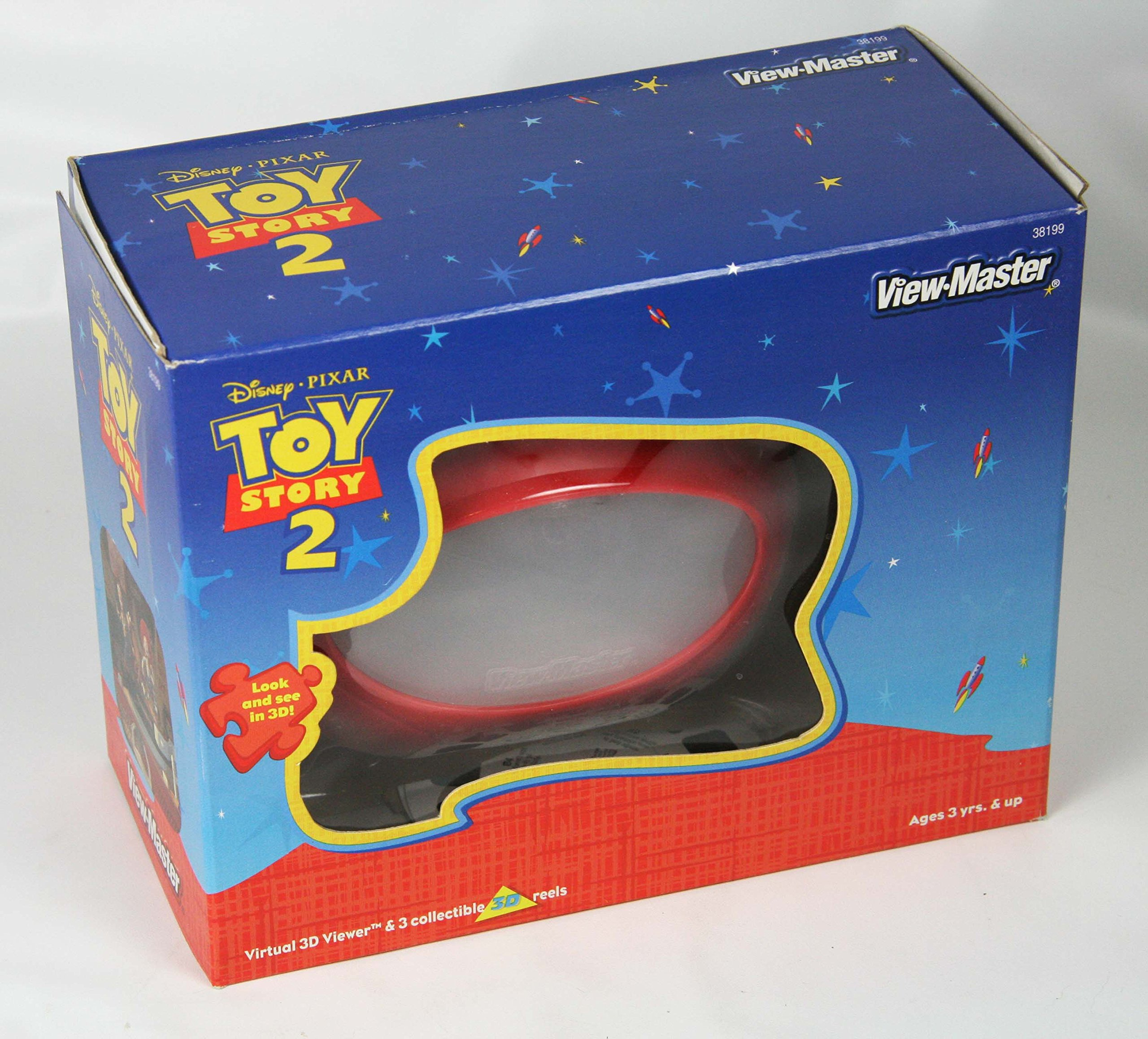 ViewMaster Gift Set Toy Story 2 - Virtual Viewer and 3 Reels