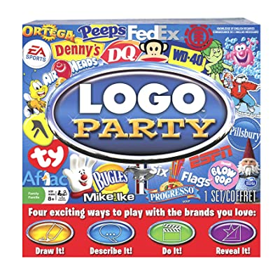 Logo Party Game: Toys & Games