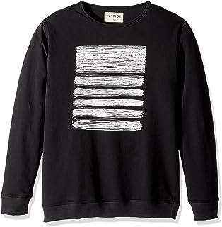 Vestige Mens Apparel Mens Box Leaf Cotton Graphic T-Shirt
