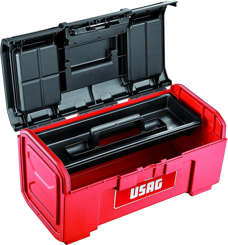 Caja de herramientas de 19 vac/ía USAG U06410005