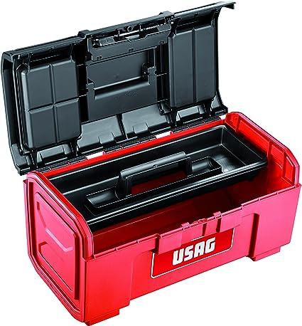 USAG U06410005 - Caja de herramientas de 19