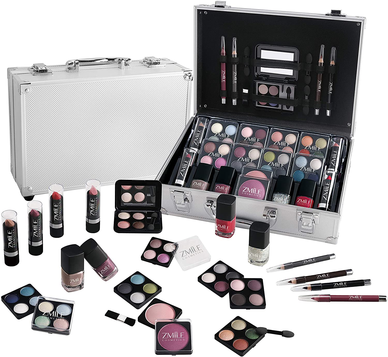 ZMILE - Everybodys Darling - Estuche Estética Cosmética Set Regalo Viaje Maquillaje Caja Tren Almacenamiento: Amazon.es: Belleza