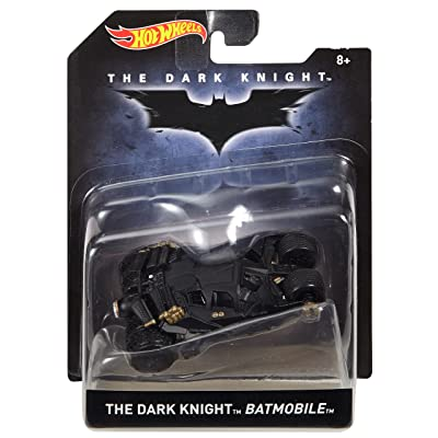 Hot Wheels The Dark Knight Batmobile Vehicle: Toys & Games