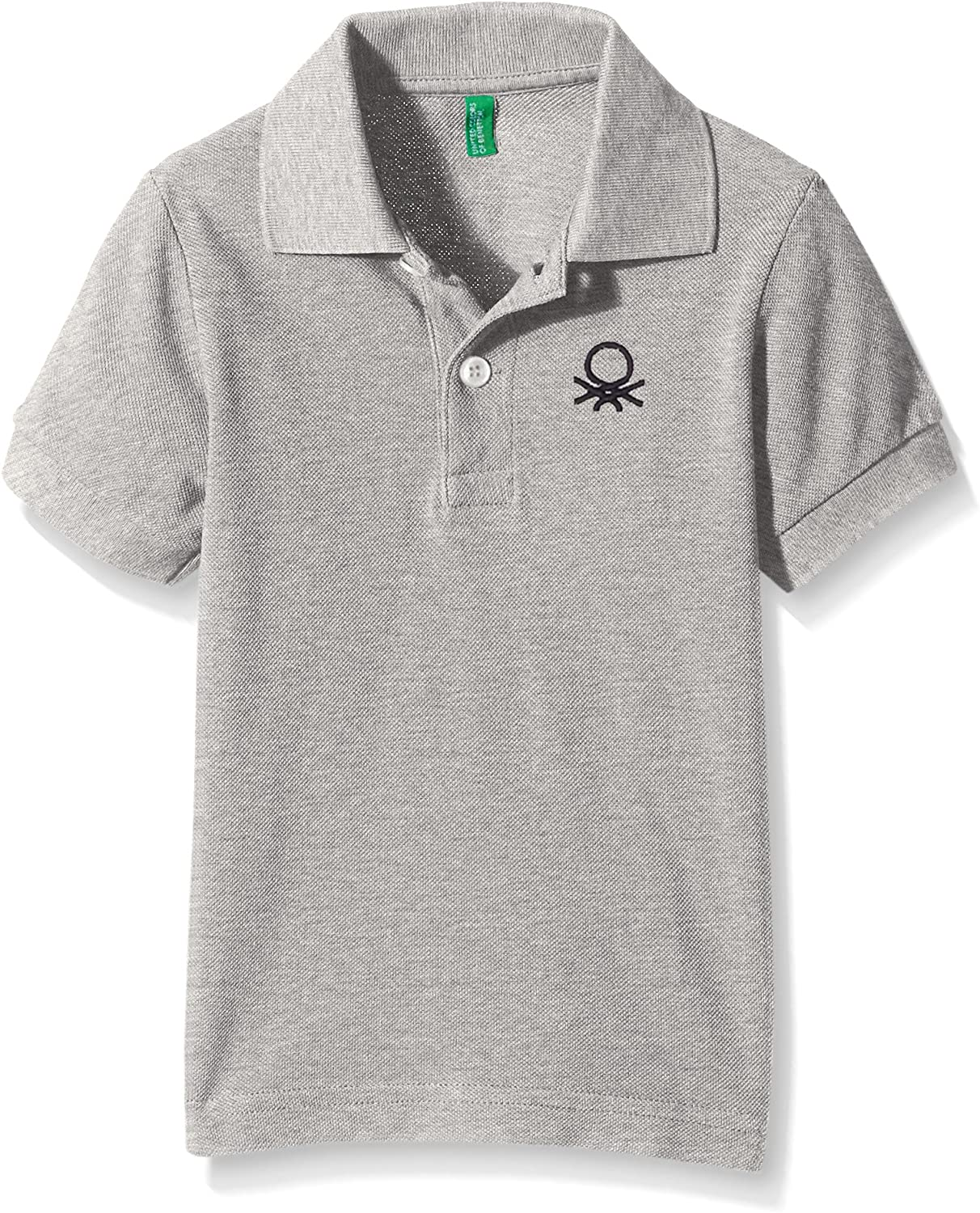 United Colors of Benetton 3089C3303, Polo para Niños, Gris (Light ...