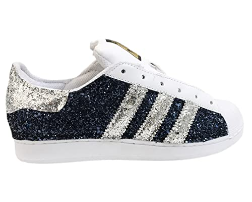 superstar glitter argento